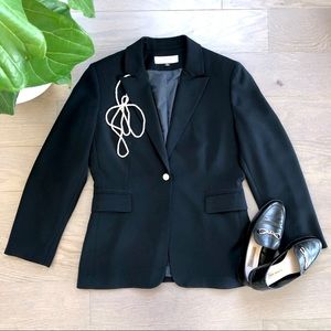Tahari ASL • Black Single-Breasted Blazer